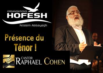 Raphael Cohen Ténor